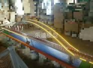 桥梁路网模型